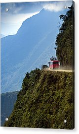 The World's Most Dangerous Road, Bolivia Acrylic Print by John Coletti
