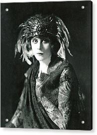 Theda Bara In The Broadway Show The Acrylic Print by Everett