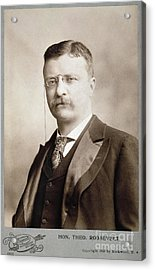 Thedore Roosevelt Acrylic Print by Granger