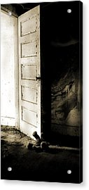 There's Something In My Room... Acrylic Print by Nyla Alisia