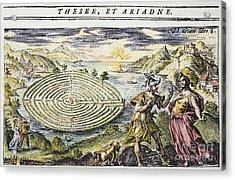 Theseus & Ariadne Acrylic Print by Granger