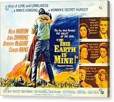 This Earth Is Mine, Dorothy Mcguire Acrylic Print by Everett