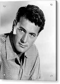 This Earth Is Mine, Rock Hudson, 1959 Acrylic Print by Everett