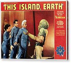 This Island, Earth, From Left Faith Acrylic Print by Everett