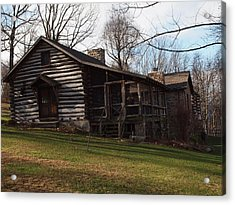 This Old Cabin Acrylic Print by Robert Margetts