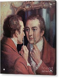 Thomas Young, English Polymath Acrylic Print by Science Source