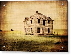 Time Forgotten Acrylic Print by Julie Hamilton