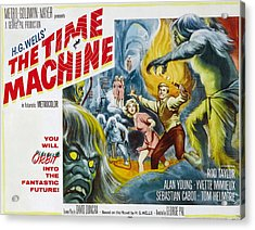 Time Machine, The, Yvette Mimieux, Rod Acrylic Print by Everett