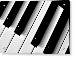 Tinkling The Ivories Acrylic Print by Bill Cannon