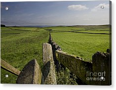 To Castleton Acrylic Print by Darren Burroughs