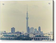Tokyo Skytree Acrylic Print by Gregory Ferguson