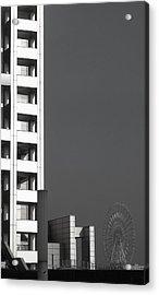 Tokyo's Devil's Wheel Acrylic Print by Naxart Studio