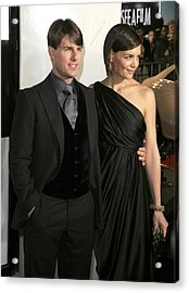 Tom Cruise, Katie Holmes Wearing Acrylic Print by Everett