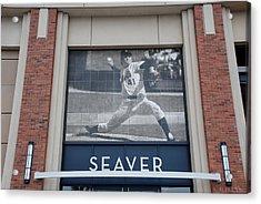 Tom Seaver 41 Acrylic Print by Rob Hans
