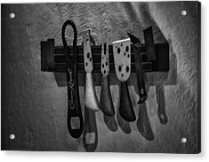 Tools Of The Trade Acrylic Print by Brenda Bryant