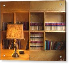 Top Pot's Library Acrylic Print by Heidi Smith
