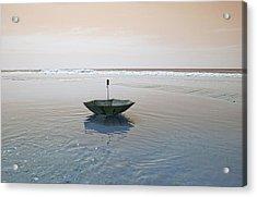 Topsail Floating Umbrella Acrylic Print by Betsy Knapp