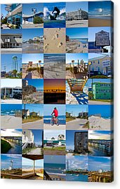 Topsail Visual Contemporary Quilt Series II Acrylic Print by Betsy C Knapp
