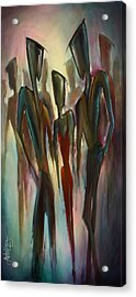 'touch Of Red' Acrylic Print by Michael Lang