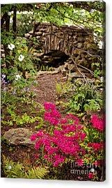 Touch Of Spring Acrylic Print by Cheryl Davis