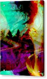 Touch Of The Sun Acrylic Print by Linda Sannuti