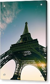 Tour Eiffel Acrylic Print by Images by Fabio