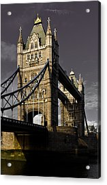 Tower Bridge Acrylic Print by David Pyatt