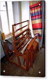 Traditional Weavers Loom Acrylic Print by LeeAnn McLaneGoetz McLaneGoetzStudioLLCcom