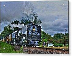 Train 844 Acrylic Print by Joseph Porey