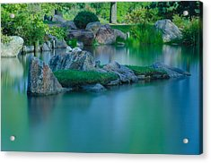 Tranquil Island Acrylic Print by Jonah  Anderson