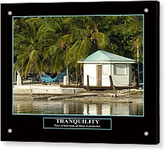 Tranquility Acrylic Print by Kevin Brant