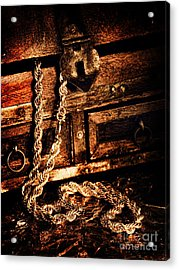Treasure Box Acrylic Print by HD Connelly