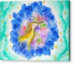 Treasure In The Air Acrylic Print by Asida Cheng