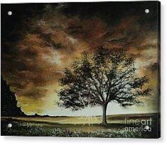 Tree Of Life Acrylic Print by Carla Carson