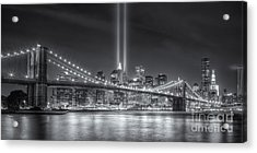 Tribute In Light Vi Acrylic Print by Clarence Holmes