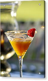 Tropical Cocktail Acrylic Print by Ron Dahlquist