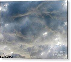 Troubled Sky Acrylic Print by Greg Geraci