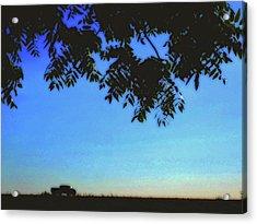 Truckin' Acrylic Print by Molly McPherson