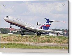 Tupolev 154 Aircraft, Russia Acrylic Print by Ria Novosti