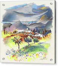 Turre In Spain 03 Acrylic Print by Miki De Goodaboom