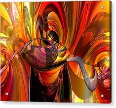Twisted Jester Fx  Acrylic Print by G Adam Orosco