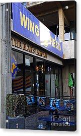Uc Berkeley . Bears Lair Pub . 7d10163 Acrylic Print by Wingsdomain Art and Photography