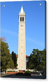 Uc Berkeley . Sather Tower . The Campanile . 7d10050 Acrylic Print by Wingsdomain Art and Photography
