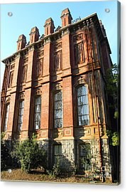 Uc Berkeley . South Hall . Oldest Building At Uc Berkeley . Built 1873 . 7d10108 Acrylic Print by Wingsdomain Art and Photography