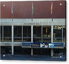 Uc Berkeley . Zellerbach Hall . 7d10013 Acrylic Print by Wingsdomain Art and Photography