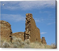 Una Vida Walls At Chaco Acrylic Print by FeVa  Fotos