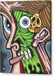 Under The Skin Acrylic Print by Jason Hawn