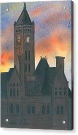 Union Station Acrylic Print by Arthur Barnes