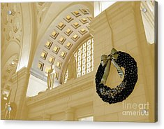 Union Station Holiday Acrylic Print by Jost Houk