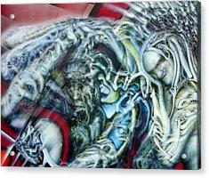 Unspoken Acrylic Print by David Frantz